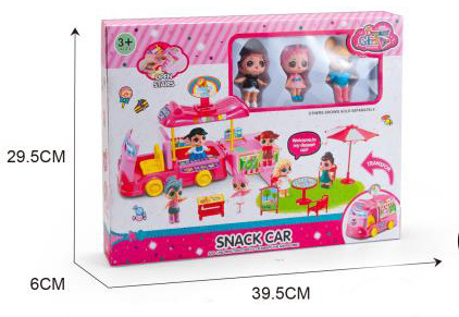 Children's Play House Educational Toys Surprise Doll Camper Set GIRL'S Creative Gifts Wholesale Factory Direct