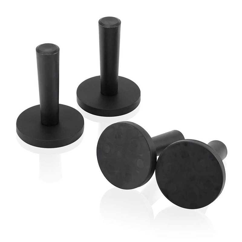 4Pcs Mobil Bungkus Hitam Gripper Dudukan Magnet untuk Tanda Vinyl mobil Pembungkus dan Kerajinan Pembuatan Tanda Vinyl Alat Magnet