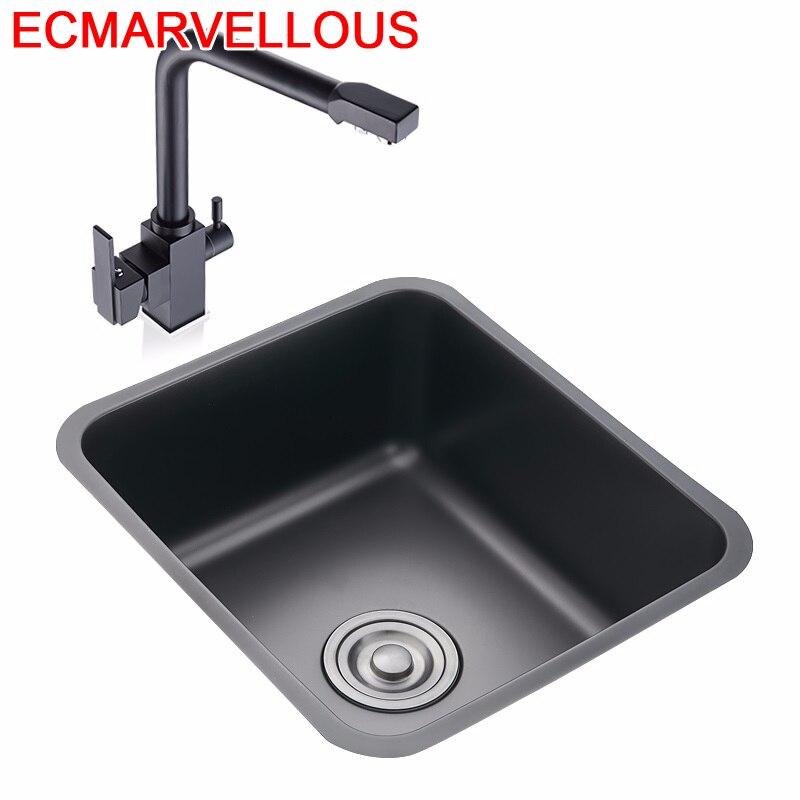 Ze Stali Nierdzewnej Portable Lavandino Faucet Lavello Cucina Cuba Lavabo Pia Cozinha Fregadero De Cocina Kitchen Sink