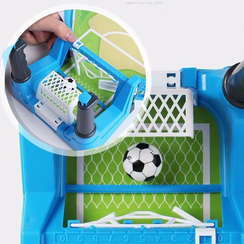 Newly Mini Tabletops Soccer Game Desktop Football Two Player Finger Sport Toy for Kids FIF66