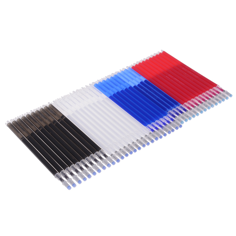 10pcs Coarse Rod High Temperature Disappearance Refill Leather Garment Dash Cutting Marker Pen School Office Stationery