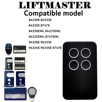 Chamberlain Liftmaster Motorlift 94335E Replacement Remote Control 1A5639-7 Garage door remote control 433.92mhz transmitter for liftmaster chamberlain tx4unis compatible remote control free shipping