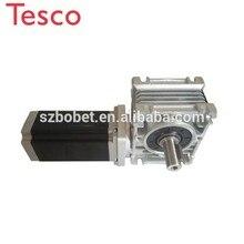 цена на Reducer stepping engine 4Nm nema 23 NMRV metal worm geared stepper motor