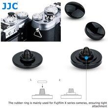 JJC מתכת תריס שחרור כפתור עבור Fujifilm X H1 XPRO2 X100F X100T XE3 XT20 XT2 XT10 XT3 GS645s XT30 SONY RX1RII לייקה M9