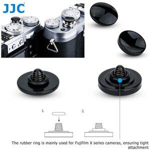 Image 1 - JJC Metal Ontspanknop voor Fujifilm X H1 XPRO2 X100F X100T XE3 XT20 XT2 XT10 XT3 GS645s XT30 SONY RX1RII leica M9