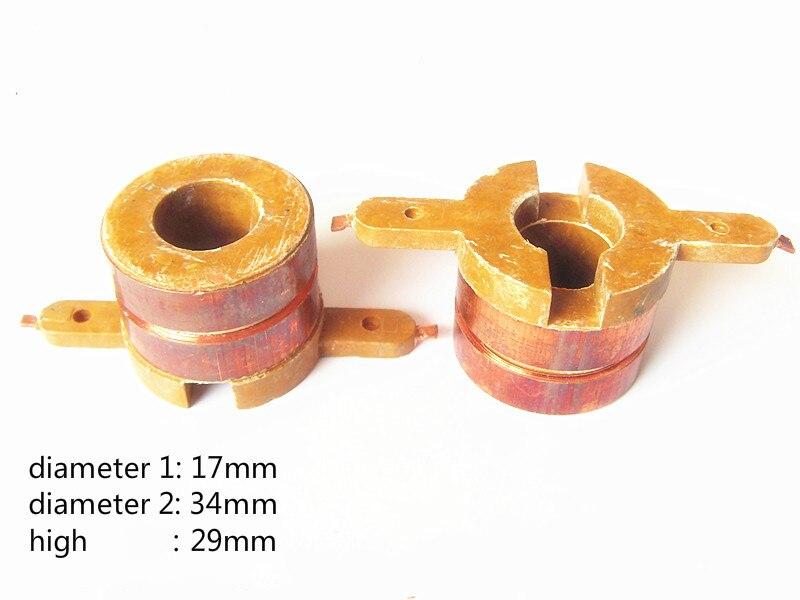 4pcs Suitable for Isuzu car generator copper head slip ring garland slip ring Accessories