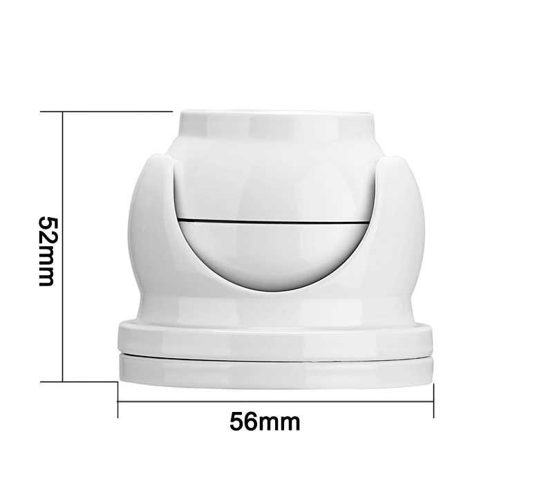 12Pcs Infrarood Leds 5mp,4mp,2mp Wit Outdoor Gezicht Detectie IP66 Mini Dome Halfrond Surveillance Beveiliging Ahd Cctv Camera