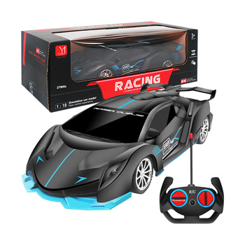 1:18 4WD RC Car 2.4G Series Control Car Toys Fast Speed Race With Lights Car For Boys Rc Drift Driving Car Educational Toys 1