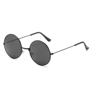 Okrągłe okulary mężczyźni kobiety Steampunk okulary Vintage Sunglasse kobiety marka projektant okrągłe okulary 2020 nowe lusterko UV400 tanie i dobre opinie CN (pochodzenie) 53 mm TXT305