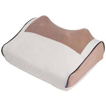 цена на Multi-function Relaxation Massage Pillow Body  Vibrator Electric Shoulder Back Heating Kneading Infrared therapy Neck Massage