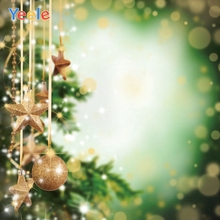 Yeele Christmas Backdrop Winter Star Ball Newborn Baby Portrait Photography Background For Photo Studio Photocall Photophone