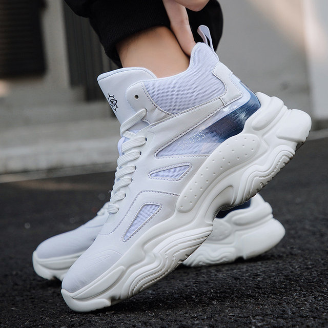 2019 Mens Shoes Casual Slip On Breathable Hot Sale Air Cushion Keep warm Sneakers Men Shoes Spring Shoes Outdoor Flats Shoes 20