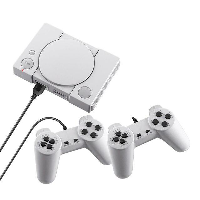 WOLSEN Console di gioco classica a 8 Bit Mini stazione di gioco integrata nel 620 giochi sistema di intrattenimento per famiglie uscita AV Console di gioco TV