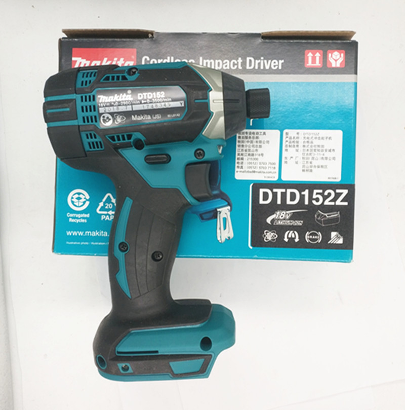 Makita DTD152Z 18V LXT  TD152D DTD152 DTD152RME DTD152RFE  Replaces For DTD146Z DTD146RME/RFE/RYEL Cordless Impact Driver