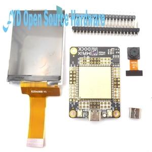 Image 1 - 1Set Sipeed M1 Dock Development Board + 2.4 Inch 320*240 Lcd scherm + OV2640 Camera Kit