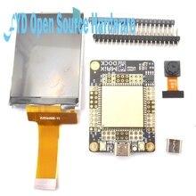 Placa de desarrollo de muelle Sipeed M1 + pantalla LCD de 2,4 pulgadas 320*240 + Kit de cámara OV2640, 1 Juego