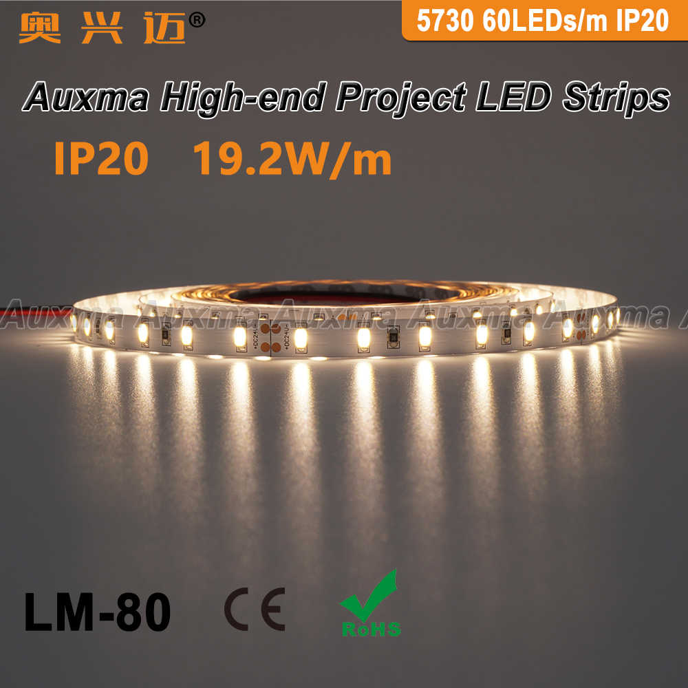 LED Strip 1m 60 LED 2400 Lumen kaltweiss 12V Typ 5630 IP20 Streifen flexibel