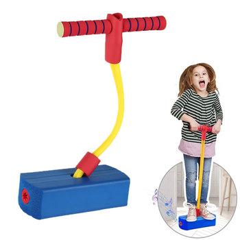 Piana Pogo Stick dzieci Balance Trainer skacząca gra chłopcy dziewczęta zabawny elastyczny sprzęt sportowy Fitness z uchwytami tanie i dobre opinie CN (pochodzenie) Jumping