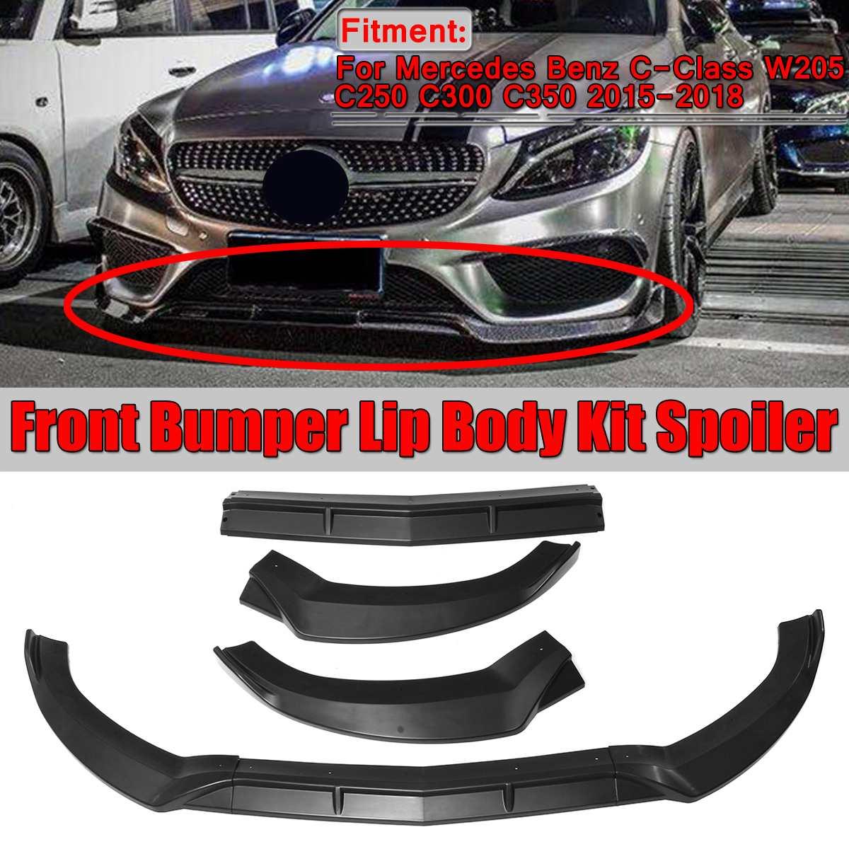 UPSM Front Left Bumper Chrome Trim Molding Fit For Mercedes-Benz W205 C300 2015 2016 2058851374