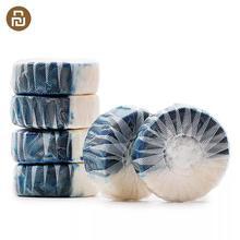Оригинальный автоматический очиститель Youpin Clean n Fresh, синие пузыри для унитаза, дезодорирующая очистка, бытовая химия