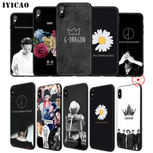 IYICAO G dragon GD Bigbang Soft Phone Case for iPhone 11 Pro XR X XS Max 6 6S 7 8 Plus 5 5S SE Silicone TPU