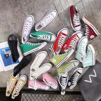 Chunky Sneakers mężczyźni buty do biegania buty trampki buty wulkanizowane brezentowe buty Casual Men Sneakers para 35-44 Off białe buty tanie i dobre opinie LION SCREAM PŁÓTNO CN (pochodzenie) Na wiosnę jesień RUBBER ZSZYWANE Stałe Chunky Sneakers Men Shoes Running Shoes Sneakers Vulcanized Shoes Canv