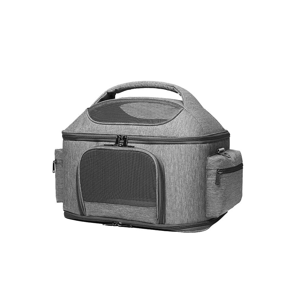 Adjustable Pet Carrier Durable Backpack Breathable Pet Frontpack Carrier Travel Bag For Small Or Medium Animal