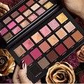 18 cores shimmer fosco sombra paleta brilho nude natural sombra de olho em pó maquiagem brilho olhos de longa duração