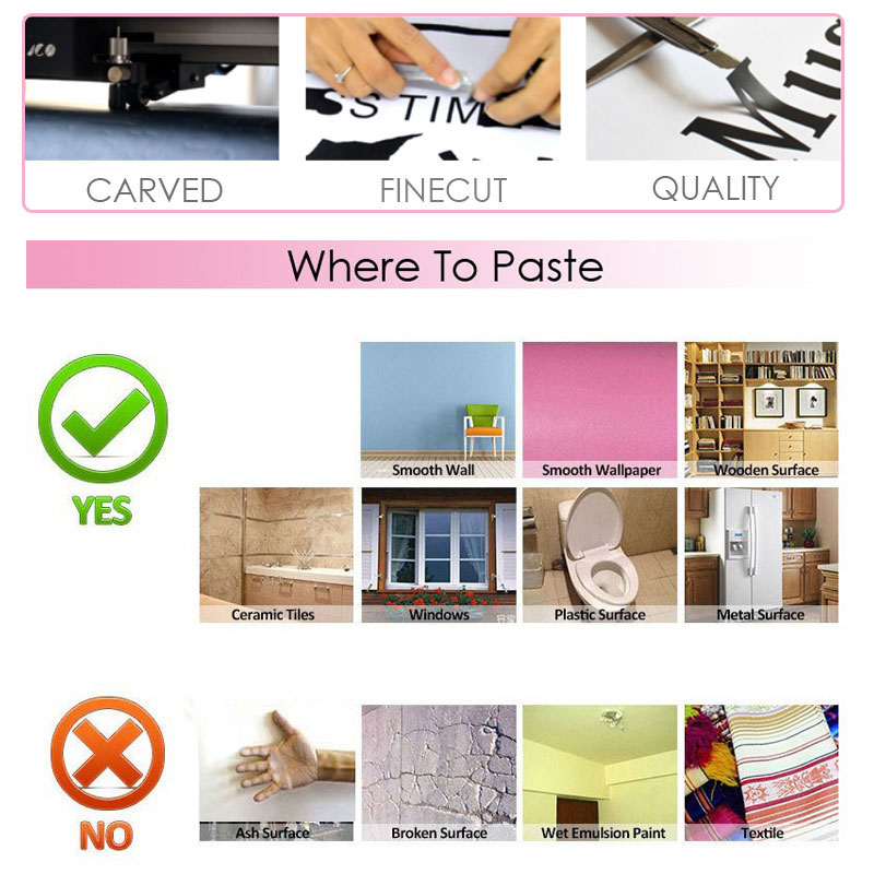 In Order To Be Irreplaceable Art Quote Wall Decal Eyes Eyelashes Makeup Girl Cosmetic Vinyl Wall Sticker Beauty Salon Decor 4132