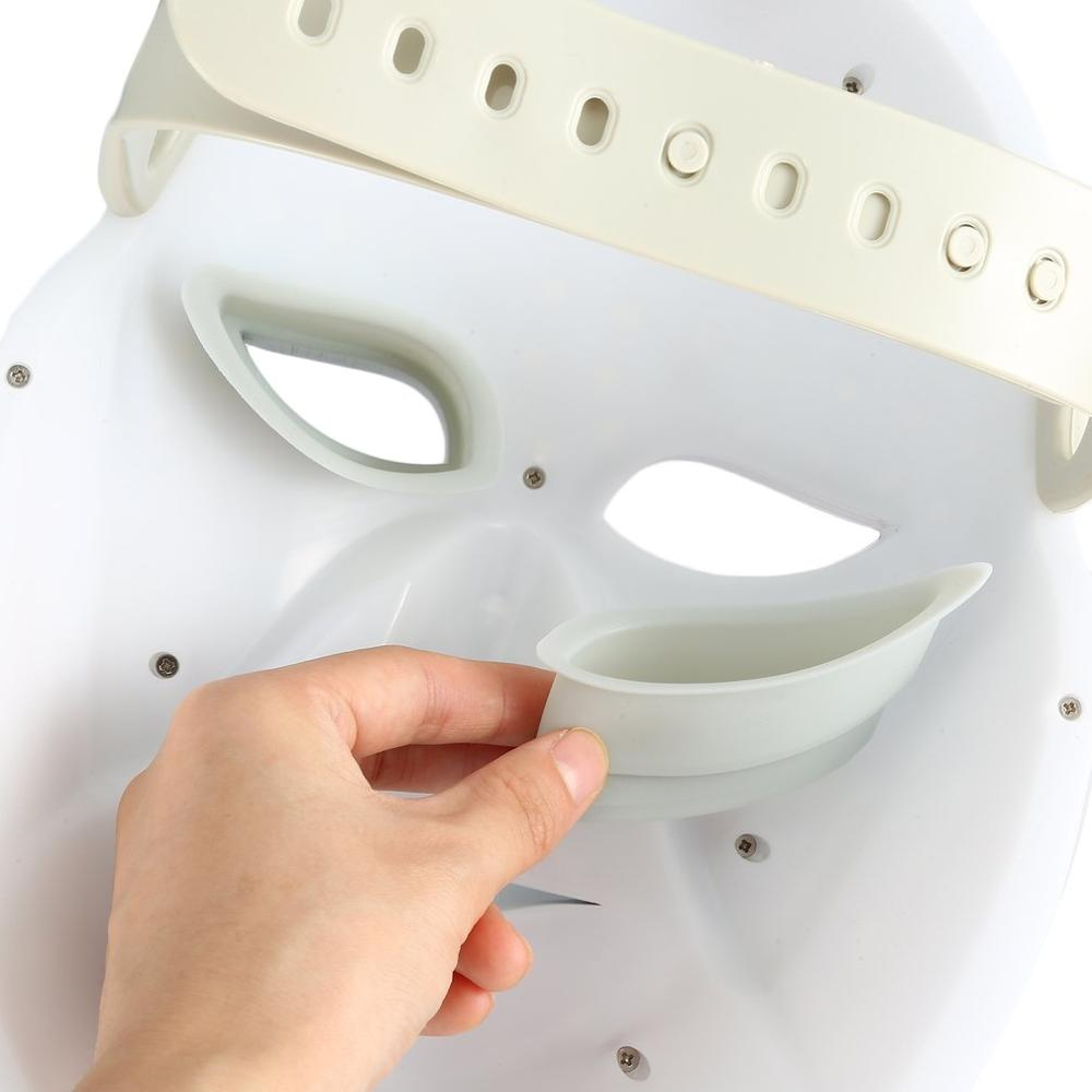 2019 NEW Cleopatra Back Cover Led Touch Led Mask Design Photorejuvenation Instrument Color Beauty Instrument Facial Neck in Personal Care Appliance Parts from Home Appliances