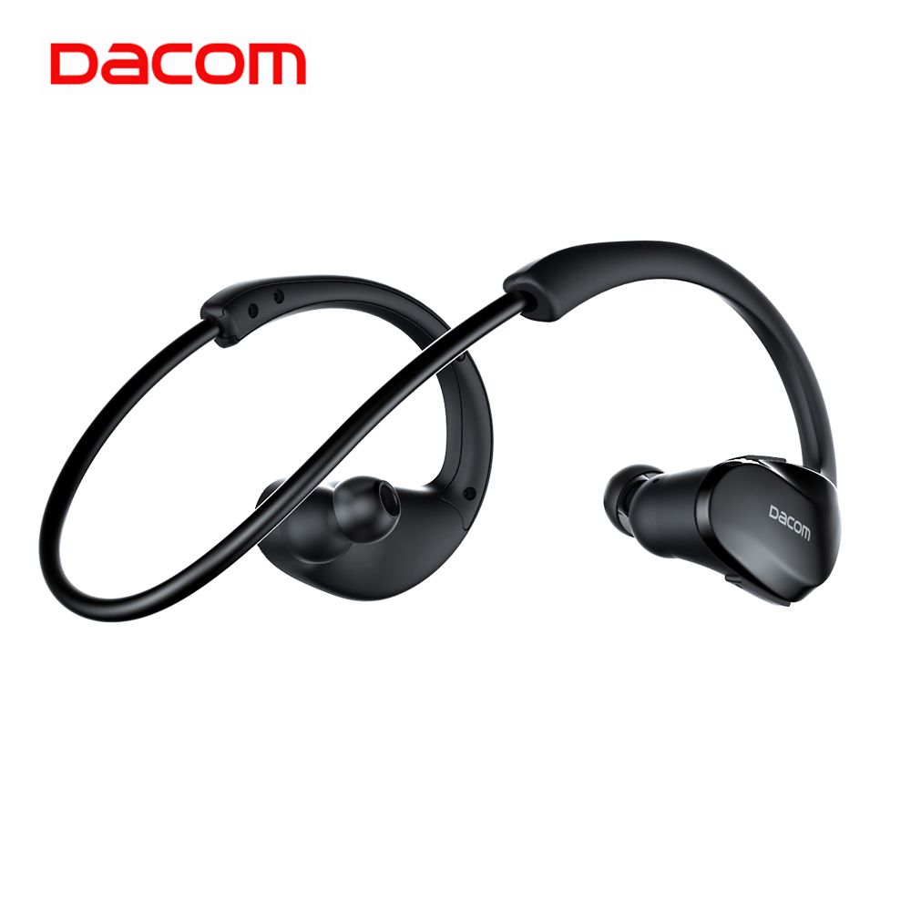 Dacom Athlete Running Wireless Sport Headphone Stereo Bluetooth 5 0 Earphone Noise Cancelling Waterproof Headset with Microphone