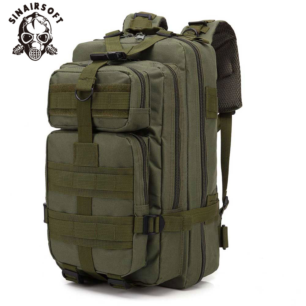 30L Large Capacity Man Army Tactical Backpacks Military Assault Bags Outdoor 3P EDC Molle Pack For Trekking Camping Hunting Bag image