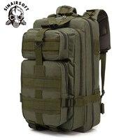 Mochilas táticas do exército  30l  grande capacidade  masculina  de assalto  militar  para atividades ao ar livre  3p  edc  para trilha  acampamento e caça saco do saco