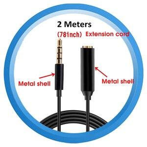 Image 2 - 3.5 มม.ไมโครโฟนขยาย 2M ไมโครโฟนสายชาย 4 TPE สายโลหะสาย Audio สำหรับอุปกรณ์เสริม MIC