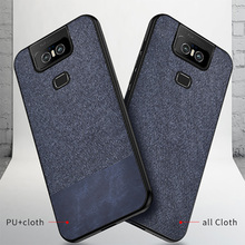For Asus Zenfone 6 ZS630KL Case Shockproof Cloth Soft Luxury Ultra-thin 2019 6z Cover