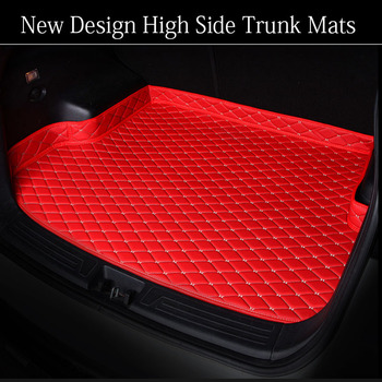"""car trunk mats for BMW F10 F11 F15 F16 F20 F25 F30 F34 E60 E70 E90 1 3 4 5 7 Series GT X1 X3 X4 X5 X6 Z4 6D car-styling carpet"