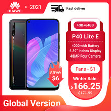 Global Huawei P40 Lite E Smartphone Nfc Versie 4 + 64 Gb Triple Camera 48 Mp Ai Camera 6.39