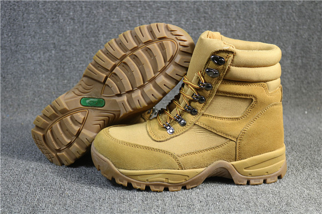 Men`s winter Nubuck Leather hiking shoes mens 200g thinsulate waterproof walking trekking mountaineering shoes for-30C 3