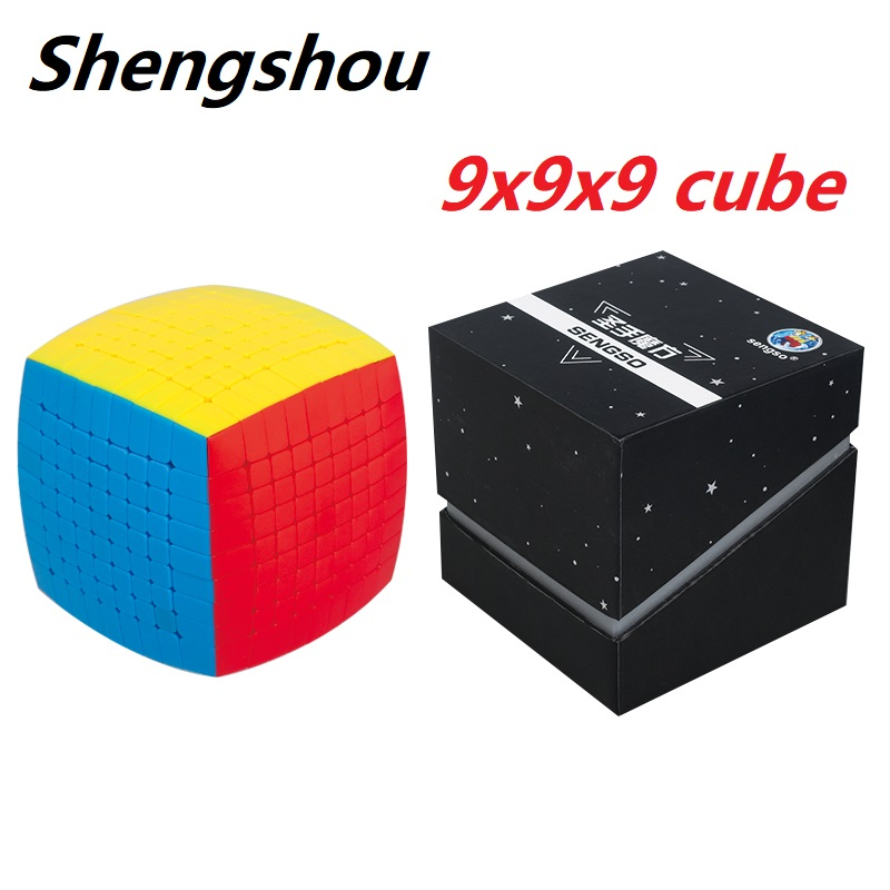 New Sengso ShengShou Pillowed 9x9x9 Magic Puzzle Professional 9x9 NEO Bread Speed Cubo Magico Educational Toys Children Gift
