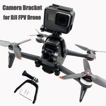 Câmera suporte superior gopro herói esportes ação câmera adaptador de montagem braçadeira fixação kit expansão para dji fpv zangão acessórios