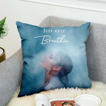 Ariana Grand Pillow Case Polyester Decorative Pillowcases Throw Pillow Cover style-4