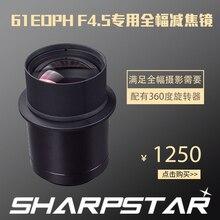 Sharp star 61edph télescope astronomique, zoom optique étoile pointu