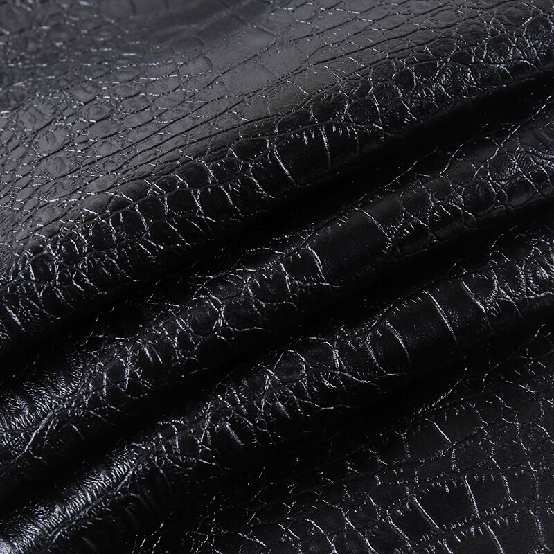 InstaHot Black High Waist Pencil Faux Leather Pants Women Casual Elegant Carving Print Ankle Length Pants Streetwear Trousers 75