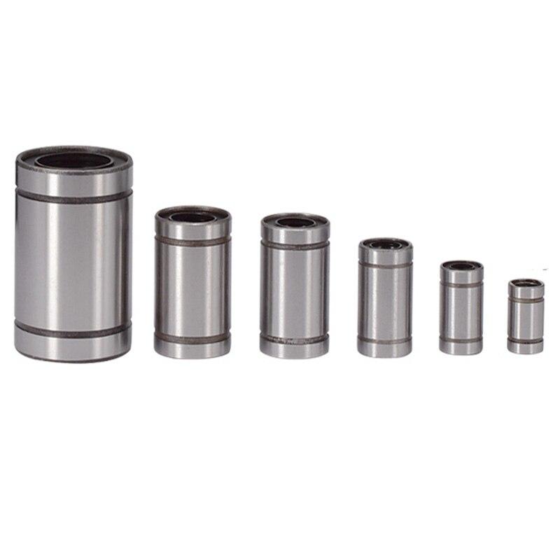 Manufacturer's Direct Selling Lm3uu Lm4uu Lm6uulm8uu Lm10uu Lm12uu Lm16uu Lm20uu Linear Lining CNC Linear Bearings Linear Shaft