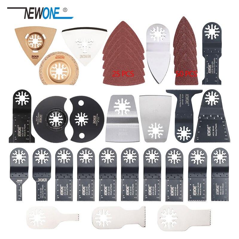 100 Pcs Oscillating Multi Tool Saw Blades For Renovator Power Tools As Fein Multimaster,Dremel,wood Metal Cutting,free Shipping