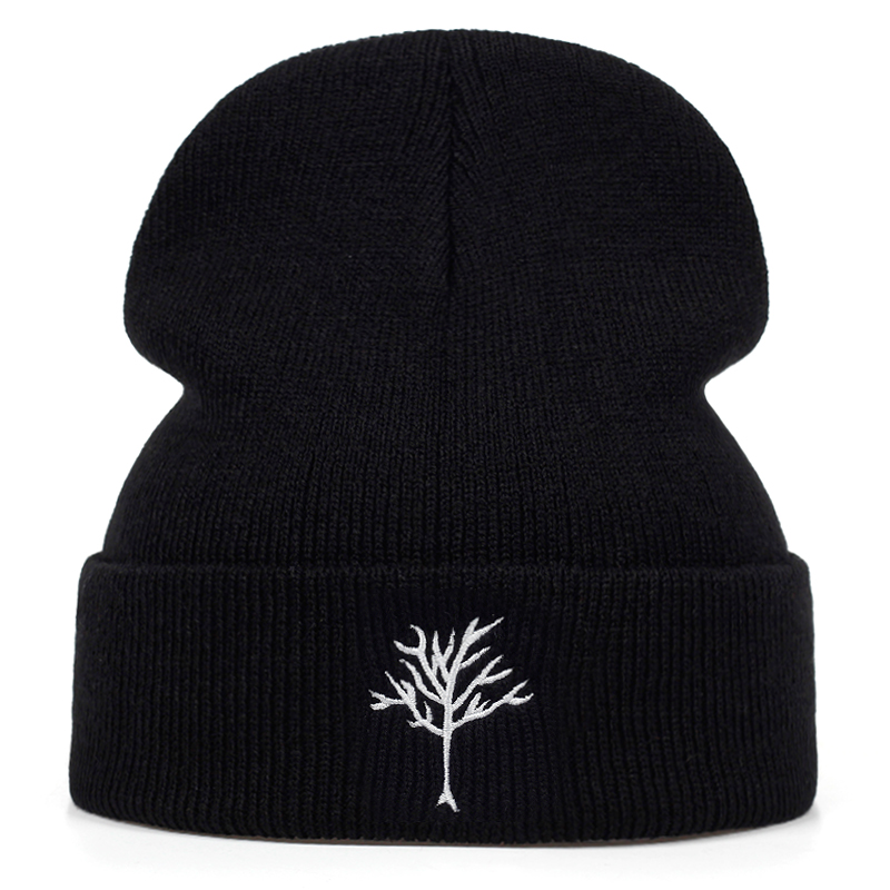 New Xxxtentacion Dreadlocks Embroidery Wool Hat Outdoor Windproof Cold Warm Hats Couple Wild Cap Outdoor Sports And Leisure Caps