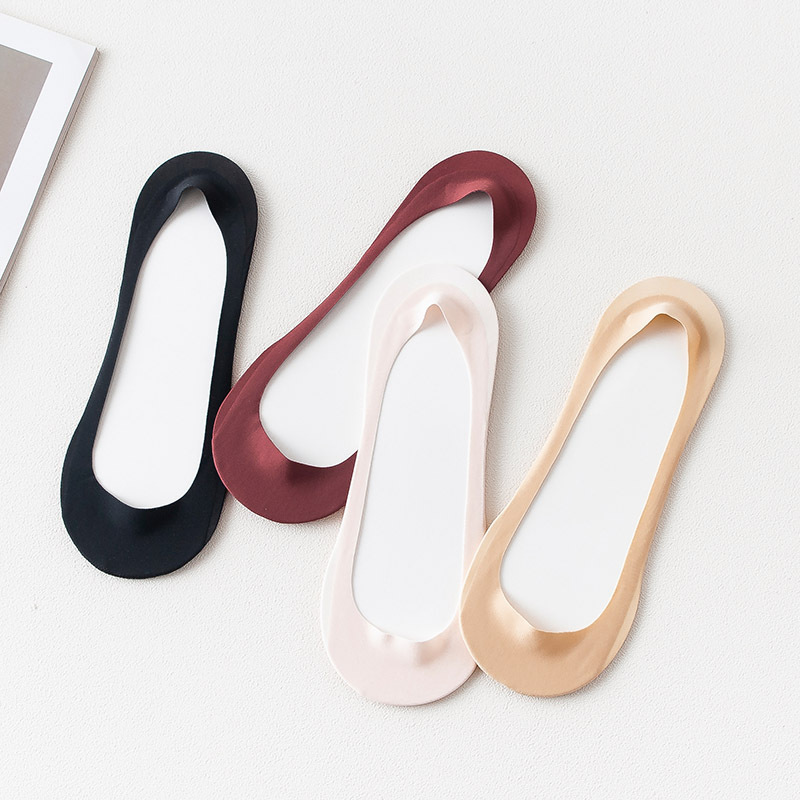 High Quality Woman's Fashion Sock Slippers 2019 Summer New Women Sock Short Solid Thin Women's Boat Socks Women Invisable