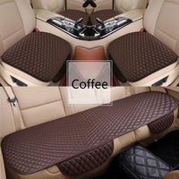 Flash mat Universal Leather Car Seat Cover for SsangYong Korando Actyon Rexton SCEO Chairman Kyron car accessories car styling