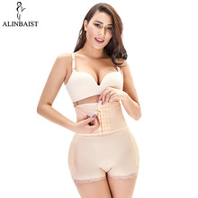 Taille Trainer Sexy Lingerie Fajas Reductoras Modeladoras Mujer Butt Lifter Taille Shaper Butt Enhancer Pads Hip Ondergoed Vrouwen(China)