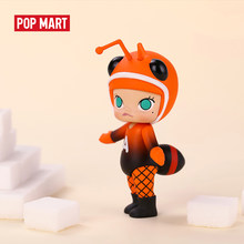 POPMART Molly bugs figure Blind Box Doll Binary Action Figure Birthday Gift Kid Toy free shipping(China)